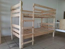 Solid Pine Bunk Beds Solid Pine Bunk Bed Noordhoek Gumtree Classifieds South Africa