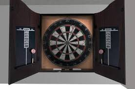 black dart board cabinet second life marketplace dart board cabinet v3 with scripted