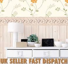 luxury 3d effect french vintage shabby chic self adhesive border