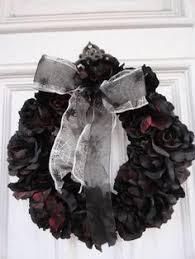 black wreath mourning wreath by grandentrancewreaths