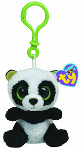 amazon ty beanie boos bamboo clip panda toys u0026 games