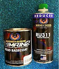 amazon com house of kolor bc25 4z basecoat black solid bc 25