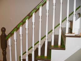 How To Paint Stair Banisters Staircase Spindles Paint U2014 John Robinson House Decor New Painted