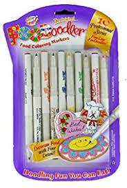 black edible marker americolor black food writer 2 marker set food