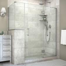 40 Shower Door Rectangle Shower Doors Showers The Home Depot
