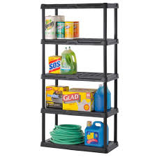 Heavy Duty Garage Shelving by Garage Storage Shelves Plastic Storage Shelves Organize It