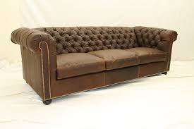 Home And Office Furniture Leather Tufted Sofa - Luxury office furniture