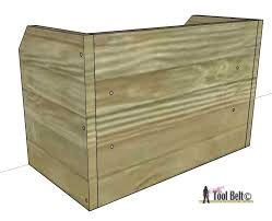 Free Wood Tool Box Plans by Cordless Drill Storage Charging Station Her Tool Belt
