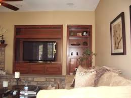tv stand with bookshelves built into wall niche cabinet