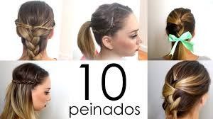 easy everyday hairdos long hair hair style and color for woman