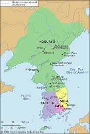 Map Of South Korea Item Name Map Of Ancient Korea Description The Three Kingdoms