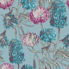 Pink Removable Wallpaper by Hydrangea Modern Classic Azure Removable Wallpaper Kathy Kuo Home