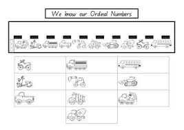 freebie ordinal numbers worksheet by kinder delights tpt