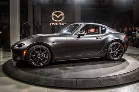 new mazda mpv 2016 2017 mazda mx 5 miata retractable fastback debuts automobile