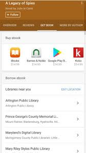 google shows search results for e books in public libraries
