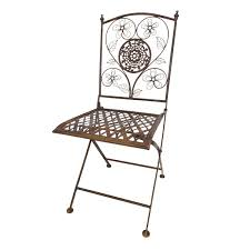 Metal Folding Bistro Chairs Square Metal Folding Chair Antique Cooper