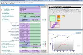 Cost Analysis Excel Template Propulsion Systems Analysis Branch
