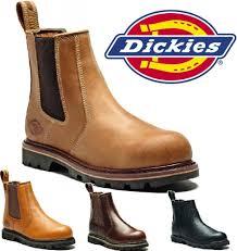 dickies slip on boots for men ebay