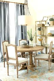 dining room size chart standard size of round dining room table