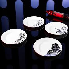 horderve plates wars ceramic appetizer plates for sale c3p0 stormtrooper