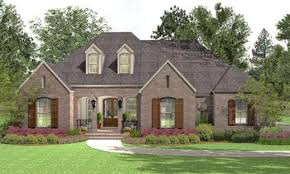 1 story low country house plans