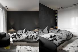 photo deco chambre a coucher adulte design interieur déco chambre coucher adulte blanc noir idées