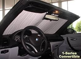 2008 bmw 1 series convertible amazon com sunshade for bmw 128i 135i 135is convertible 2008 2009