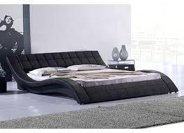 canape lit haut de gamme lit haut de gamme noir kanjy 140 lestendances fr