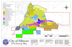 Zoning Map Zoning And Standards Fillmore Ca