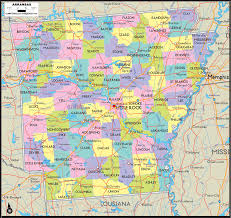 Ar Map Arkansas Map Free Large Images