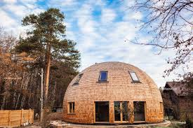 gorgeous russian dome home of the future withstands massive snow