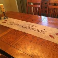 fall table runner thanksgiving table burlap and thanksgiving