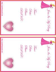 5 beautiful printable birthday party invitation card srilaktv com