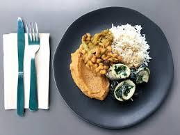 recette de cuisine du jour assiette poisson avec ses accompagnement une nouvelle recette