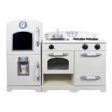 play kitchen from furniture teamson 2 wooden play kitchen set reviews wayfair