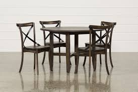 grady round dining table living spaces