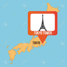 Blank Map Of Japan by Vector Map Of Japan And Tokyo Stock Vector Art 531166025 Istock
