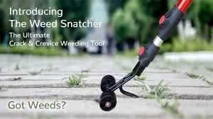 How To Remove Weeds From Patio Weed Snatcher The Ultimate U0026 Crevice Weeding Tool By