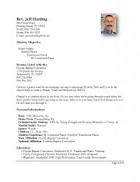 pastor resume template gorgeous ideas ministry resume templates