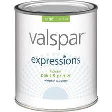 valspar expressions interior paint u0026 primer satin white