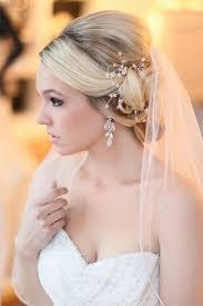 Hochsteckfrisurenen Brautfrisuren Schleier 55 brautfrisuren stilvolle haarstyling ideen für lange haare