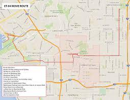 New Orleans Street Map Nasa U0027s Last Space Shuttle External Tank To Cross Oceans L A
