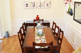 Dining Room With Wainscoting Do It Yourself Dining Room Wainscoting And Repainting Put That