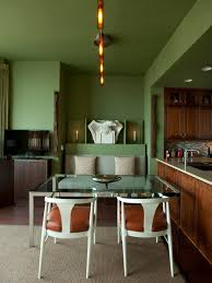 Modern Living Spaces Green Midcentury Modern Living Space Photos Hgtv Casual Dining