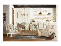 magnolia home by joanna gaines farmhouse scalloped coffee table