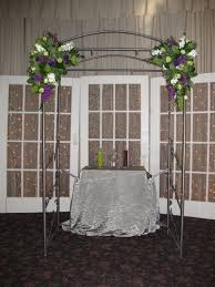 wedding arches to rent arch flowers stadium flowers