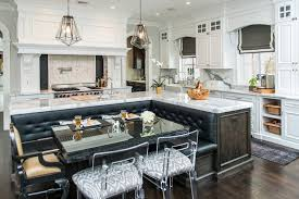 L Shaped Booth Seating Best Kitchen Island Banquette Contemporary Kitchen Vanessa Deleon