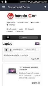 shopping cart apk tomatocart shopping cart apk free libraries demo app