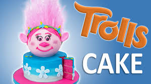 Edible Eyes Cake Decorating How To Make A Trolls Cake With Edible Hair