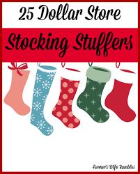 25 dollar store stocking stuffers farmer u0027s wife rambles